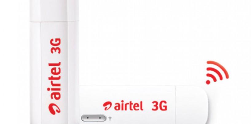 Airtel 3G Wi-Fi USB Data Card