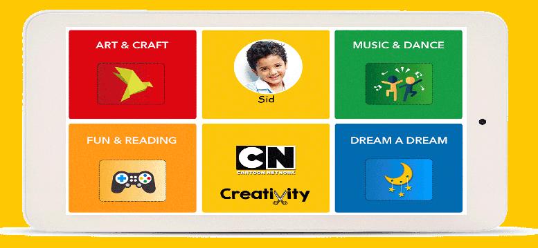 Creativity tablet image