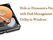 Hide or Dismount a Partition with Disk Management Utility in Windows