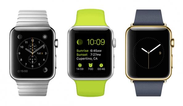 Apple Watch, Apple Watch Sport & Apple Watch Gold Edition