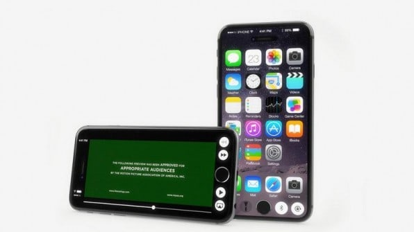 A concept image of iPhone 6S Plus