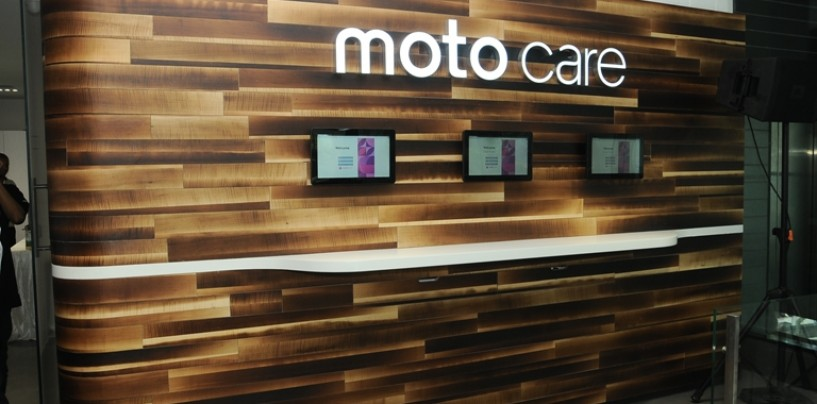 Motorola opens its first 'Moto Care' center in India
