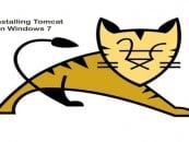 Installing Tomcat On Windows 7