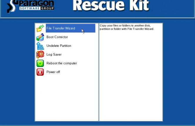 Paragon Rescue Kit Free