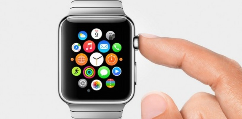 Apple Watch showcased in retail stores