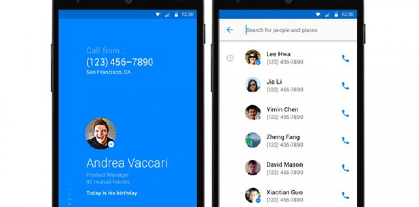 Facebook Rolls Out New Caller ID App for Android Users called Hello