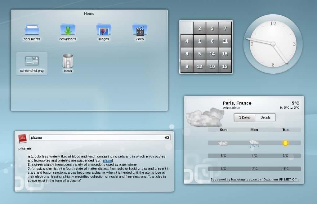 KDE-widget