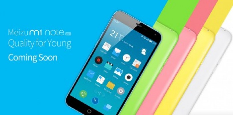 Chinese company Meizu enters Indian market with its phablet m1 note at Rs. 11,999