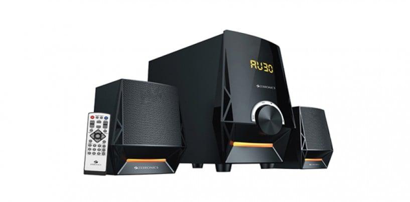 Zebronics ZEB-BT4650RUCF 2.1 Speaker System