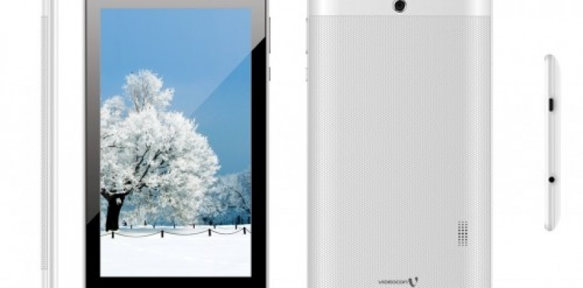 Videocon brings a 7″ tablet with 3,000 mAh battery at Rs. 4,900