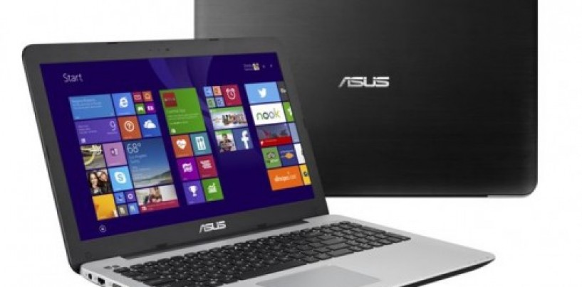 Asus X555 notebook series with 4GB RAM and 1TB HDD launched at Rs. 28,999
