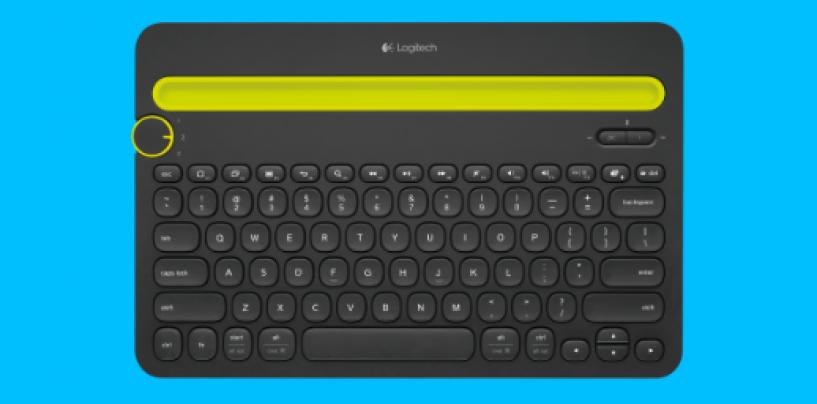 Multi-Device Keyboard Designed for Computer, Smartphone and Tablet – Logitech K480