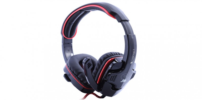 Immerse yourself in games and movies with Zebronics 3D 7.1 surround sound Iron Head Headphones