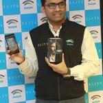 Mr. Shripal Gandhi Founder & CEO Swipe Technology unveiling ELITE on Freedom OS