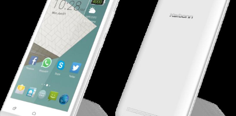 KARBONN brings AURA 9 Smartphone with 4000 mAh Battery @ Rs 6390