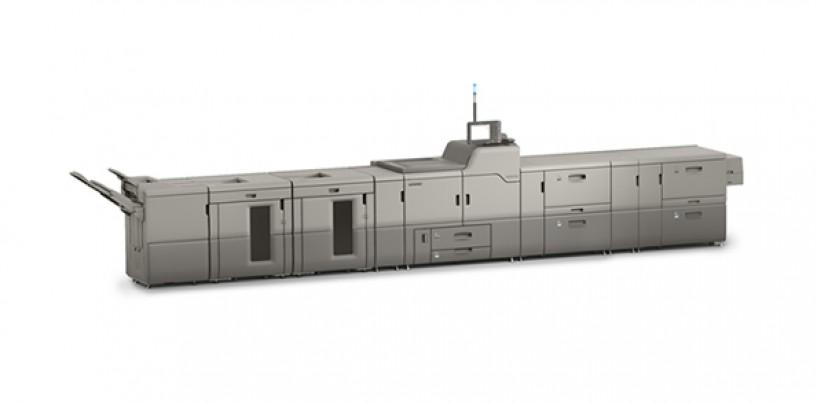 RICOH launched Pro C9100, a high volume digital press for large commercial enterprises