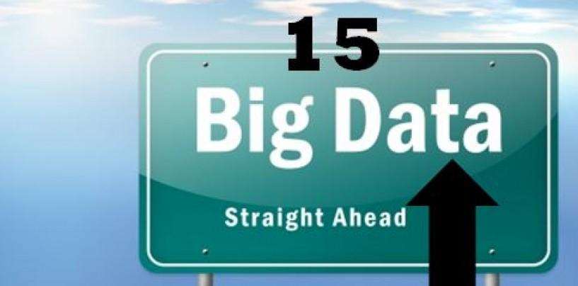 15 Big Data Analysis Platforms, Databases/Data Warehouses and Tools