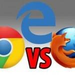 Edge vs Chrome vs Firefox