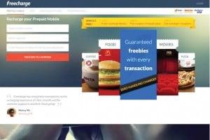 Freecharge mobile wallet