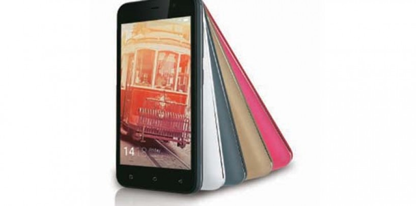 Gionee Pioneer P3S smartphone, the successor to the Pioneer P3 model launched at Rs.5999