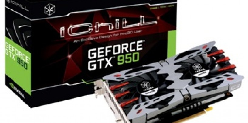 ABACUS Peripherals launches INNO3D GeForce GTX 950 @14495