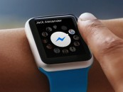 Facebook launches Messenger on the Apple Watch