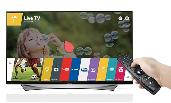 lg super uhd tv with magic remote
