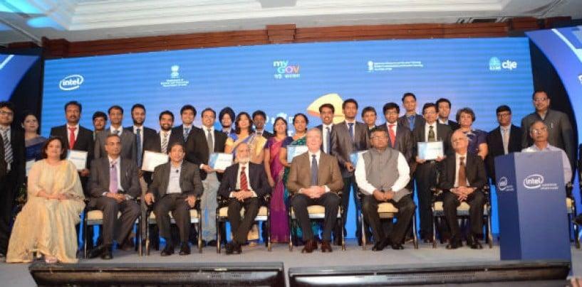 "Intel and DST India Announces Top 10 Finalists for Digital India Challenge  and ""Ek Kadam Unnati Ki Aur"" Initiative"