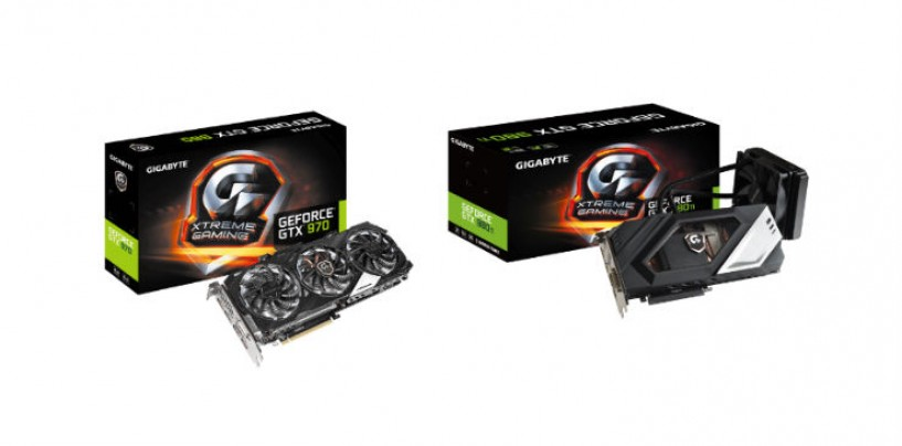 Five new high-end graphics cards from GIGABYTE