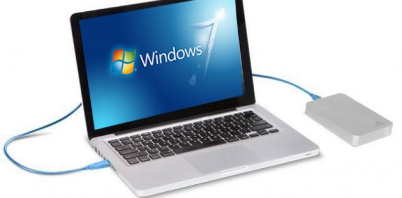 Installing Windows 7 To a USB External Hard Drive