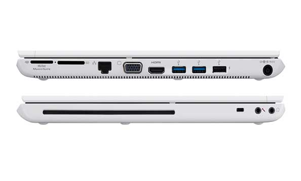 types of laptop ports