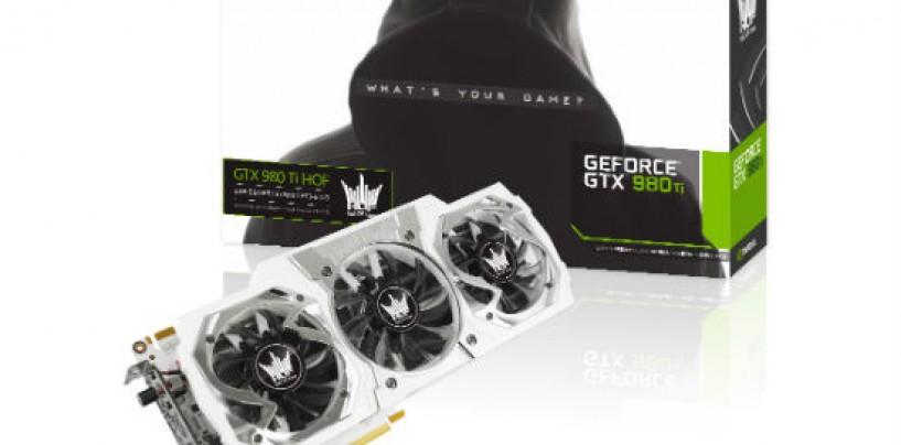 Nvidia GALAX GeForce GTX 980 Ti HoF GPU Review
