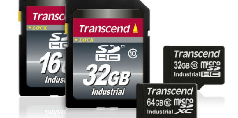 Transcend Adds 64GB microSD Memory Cards to Its Industrial-Grade Wide Temperature Lineup