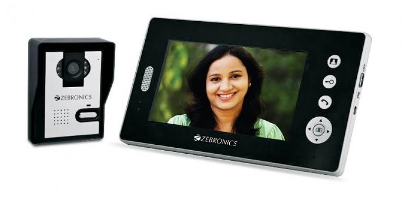 Zebronics launches Video Door Phone Cameras with RF and WiFi Communication
