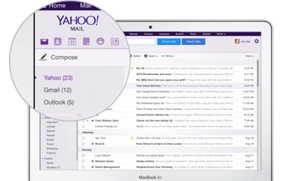 yahoo mail app new