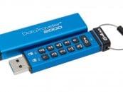 Kingston Releases DataTraveler 2000 Encrypted USB Flash drive