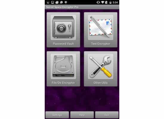 SSE - Universal Encryption App