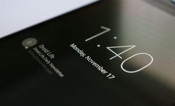 ambient display nexus 5x