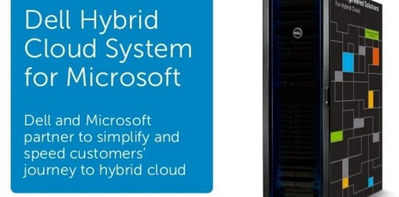 Dell Unveils Industry-unique Hybrid Cloud System
