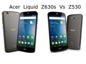 Acer Liquid Z630s Vs Z530