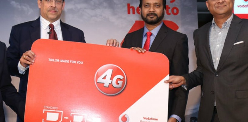 Vodafone Announces a Phased Rollout of 4G in Delhi NCR