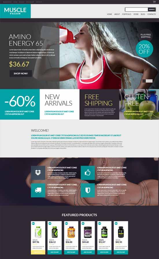 Drug-Store WordPress Ecommerce Themes
