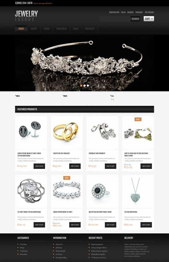 Free-Jewelry-eCommerce-WordPress-theme
