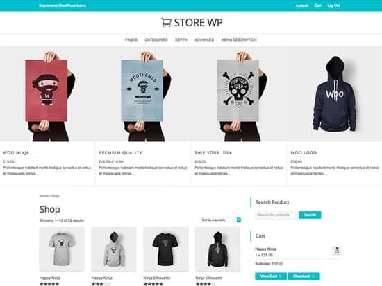 Store-WP WordPress Ecommerce Themes