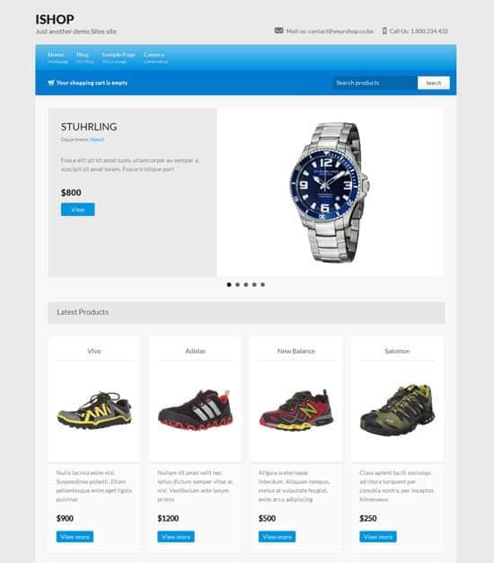 iShop WordPress Ecommerce Themes