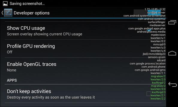 CPU-overlay