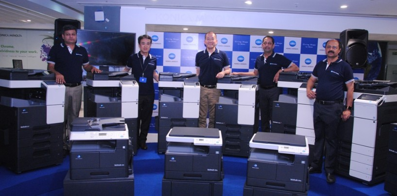 Konica Minolta Expands its Product Portfolio with New Range of Office and Production Printers