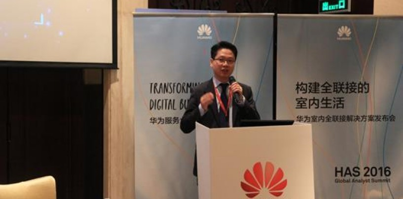 Huawei Announces Indoor Connected Solutions