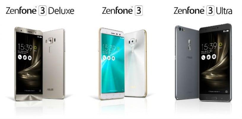 ASUS Presents ZenFone 3 Family of Smartphones at Computex 2016