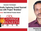 Hexaware Technologies's: Systematically Capturing Crowd SOURCED Ideas WITH PROJECT 'Brainbox'